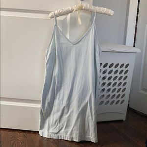 Light washed denim dress from Wilfred